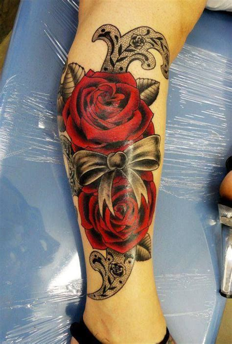 tatouage fleur rose tattoo 01 inkage