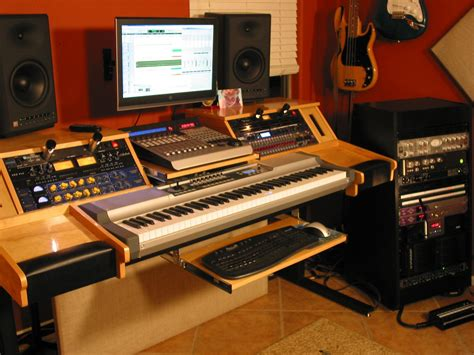 custom recording studio desk 1000 images about diy music production desk ideas on