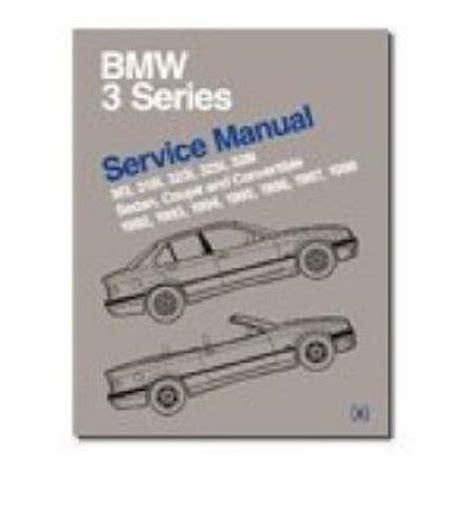 book repair manual 2003 bmw m3 security system bmw 3 series e36 service manual 1992 98 m3 318i 323i 325i 328i sedan coupe convertible