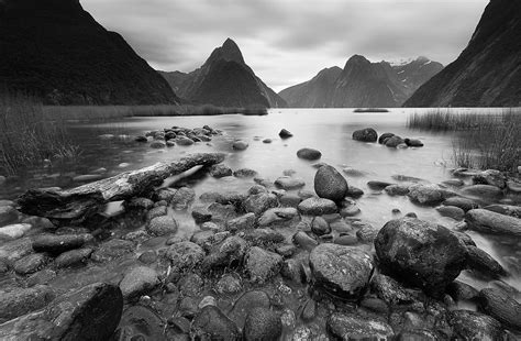black and white landscape photography 6 free wallpaper