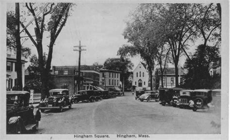 hingham square home town in massachusetts