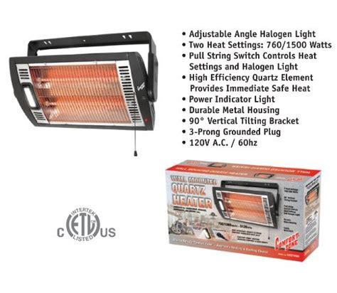 comfort zone ceiling mounted quartz heater comfort zone ceiling mount quartz heater black 1500
