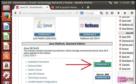 How To Download And Install Oracle Java In Ubuntu With | how to download and install oracle java in ubuntu with