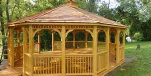 Patio Gazebo 16x16 Gazebo Plans 14 Diy Ideas To Enjoy Outdoor Living Home
