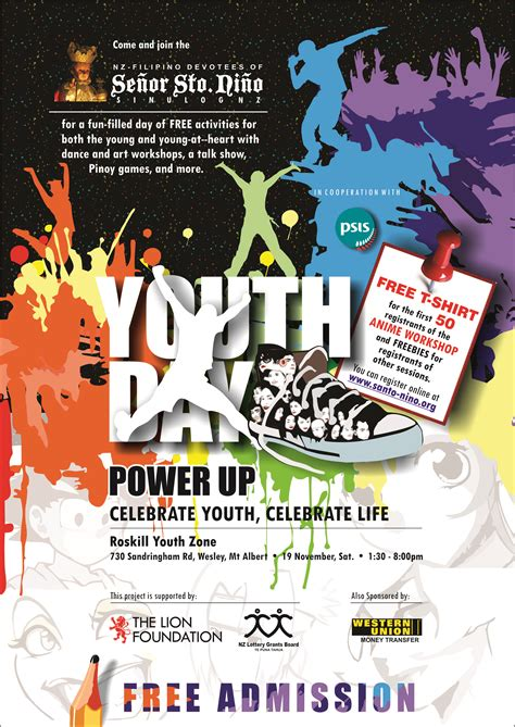 youth day invitation