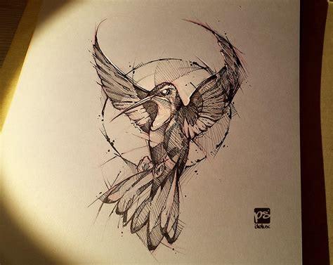 artstation hummingbird psdelux