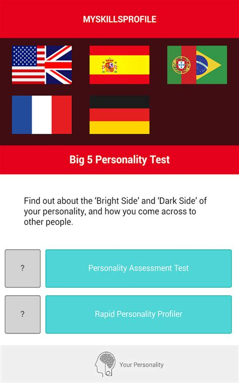 big five test big 5 personality test android apps on play