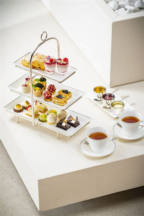 Cocolatte Iconic Petal Grey the house afternoon tea with le labo gift sets