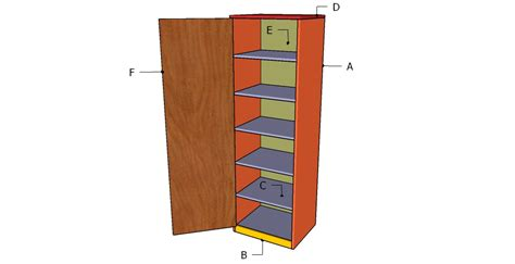 tower cabinet plans howtospecialist how to build step