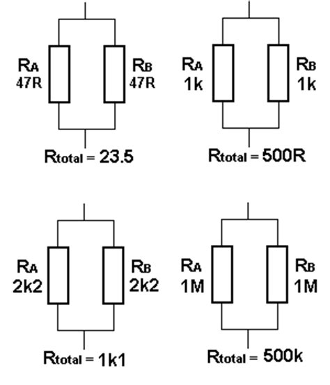 resistors in parallel to increase wattage talking electronics bec page 6