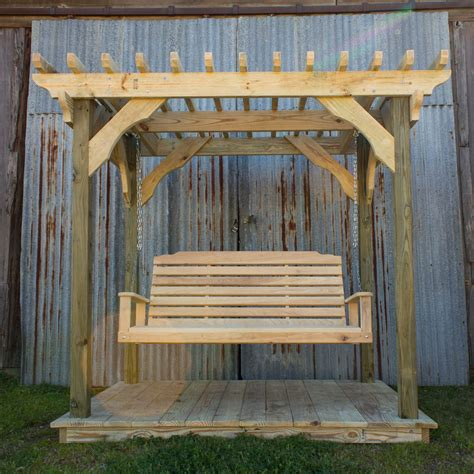pergola porch swing 100 swing pergola this 5 ft porch swing is made of