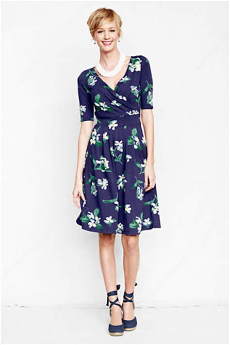 Dress Patterns For Women Over 50 | flattering50 spring dresses for women over 50