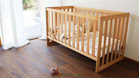 baby futon solid wood baby bed and nappy changing table team 7