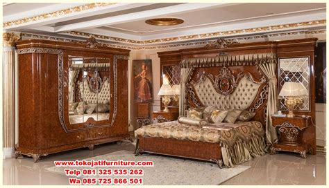 Tempat Tidur Ukiran Klasik set tempat tidur jati ukiran klasik www