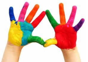 Image result for children with painted hands