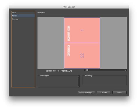 how to print to booklet in indesign book design doovi booklet printing in indesign denielle emans
