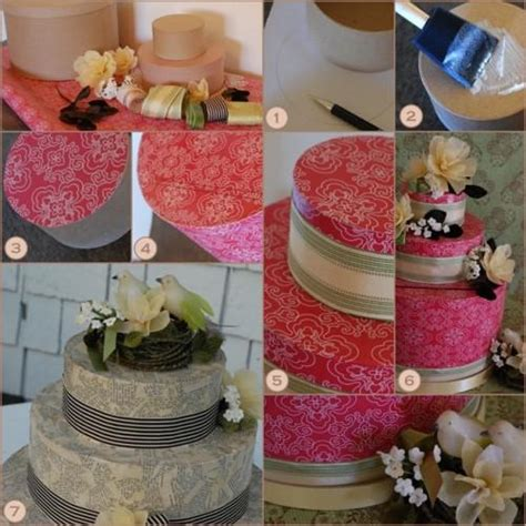how to make a wedding cake card box diy wedding cake card box once wed