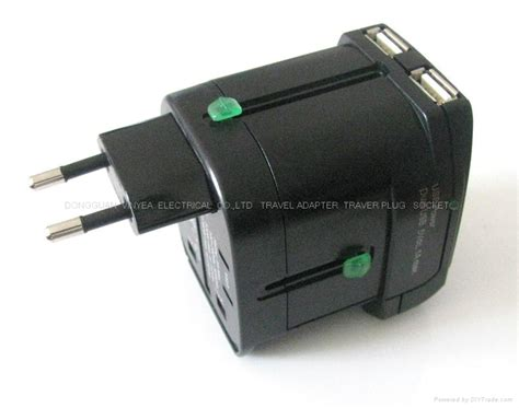 Universal Travel Dual Usb universal travel adapter with dual usb charger wy 016 vinyea china manufacturer socket