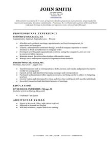 Template For Resume by Resume Templates Resume Cv Exle Template