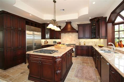 Images For Kitchen Islands Cherry Antique Kitchen Cabinet Pictures