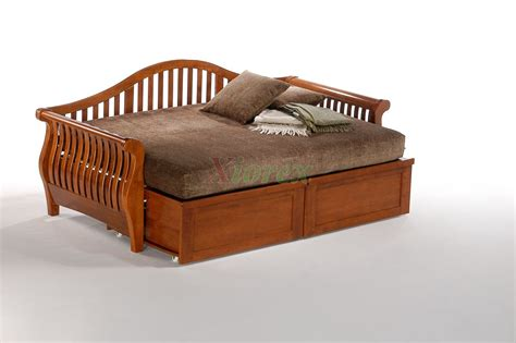 used trundle bed night and day nightfall daybed shop trundle daybed xiorex