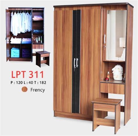 Lunar Lemari Pakaian 2 Pintu Lpt 024c lunar lpt 311 lemari pakaian 3 pintu satu kantor