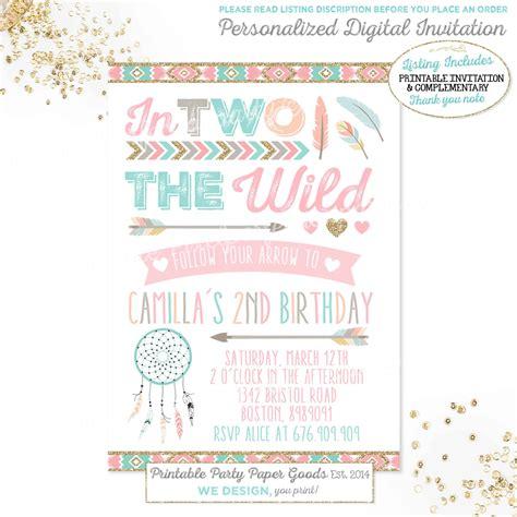 birthday invitation sles 2 catcher birthday invitation tribal arrow birthday