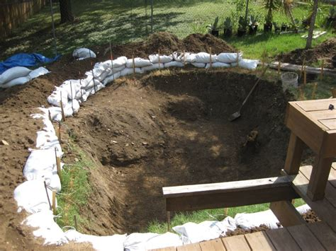 Build Your Own Pool This Diy Rock Pool Construction Is How To Build A Pool In Your Backyard