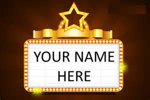 in lights see your name in lights abraham kriel childcare my