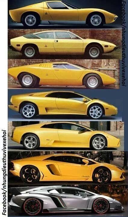 Lamborghini Cars History Evolution Of The Lamborghini Cars Modern