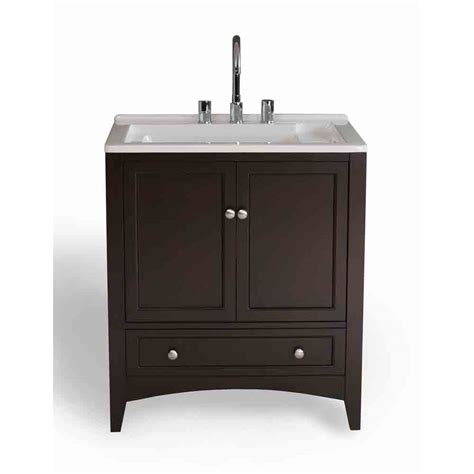 Laundry Vanities by Stufurhome 30 5 Quot Laundry Utility Sink Vanity Espresso