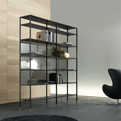 bookcase back panel material rimadesio sliding systems living area complements