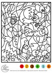 Awesome Coloriage Magique Halloween Cp #12: Coloriage-magique-animaux.jpg