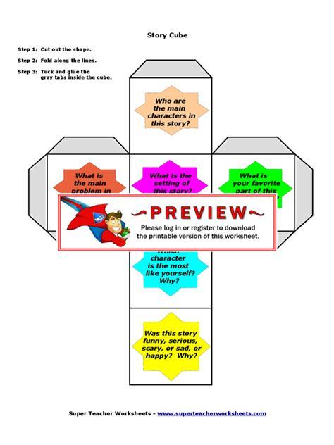 story cube template cube template 4 free templates in pdf word excel