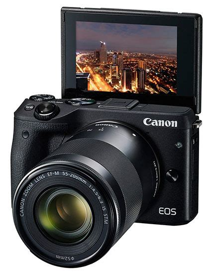 canon dslr flip screen canon unveils the m3 a 24 2mp mirrorless that feels more
