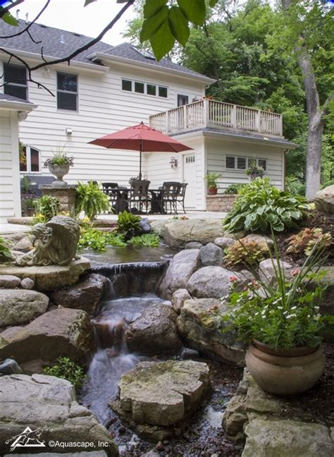 aquascape outdoor outdoor water garden pond installation by meyer aquascapes