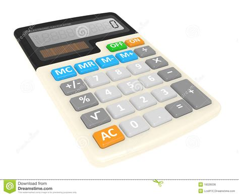 office calculator royalty free stock image image 16026036