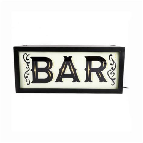 light up bar signs light up bar sign england at home
