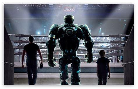 film robot steel real steel movie 4k hd desktop wallpaper for wide