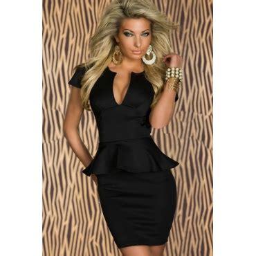 348 1 Dres Peplum Belt cheap peplum dresses u neck sleeveless black