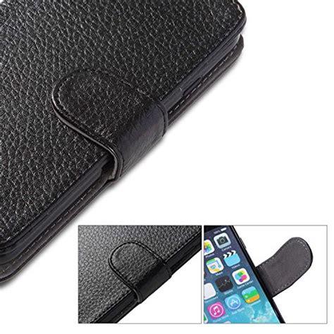Iphone 6 Plus 55inch Premium Leather Back Cover X Seri Diskon i blason kickstand wallet phone black 796762320165
