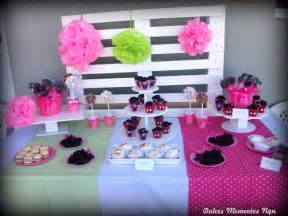 33 minnie mouse themed buffet ideas