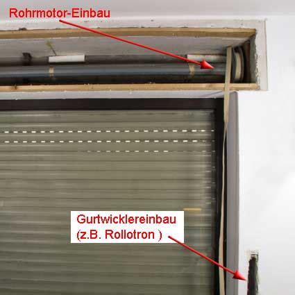 Alten Rolladenkasten öffnen by Automatische Rollladen Rollladenantrieb Mit Gurtwickler