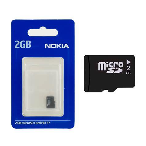 Memory Card Nokia Nokia 2 Gb Microsd Card 02720c8