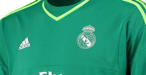 Adidas Real Madrid Green Light real madrid 15 16 goalkeeper shirts released footy headlines