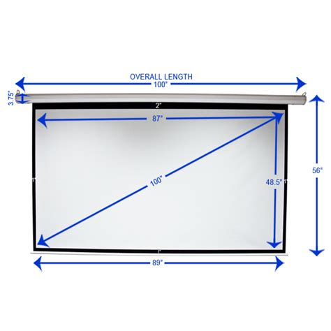 Motorized Screen Proyektor 213x213cm 100 quot 16 9 motorized electric projection screen automatic