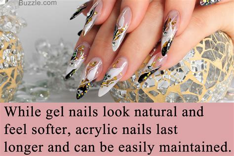 Nail And by Acrylic Nails Vs Gel Nails Let S Dissect Each Difference