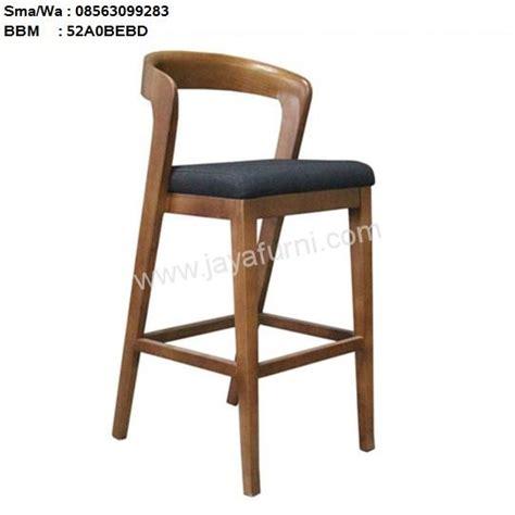 Kursi Bar Stool Informa kursi bar kayu jati gloss toko furniture toko