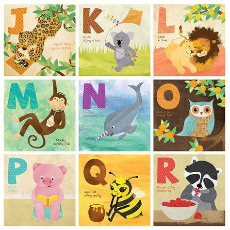 animal abc book illustration on behance
