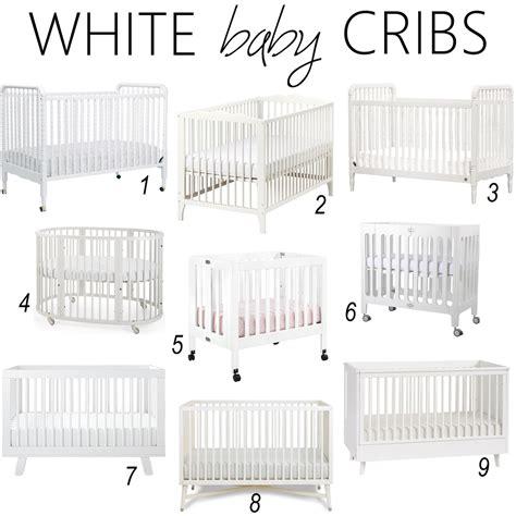 Iron Twine White Baby Cribs White Baby Cribs
